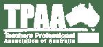 TPAA Logo white